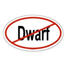 DWARF Oval Decal