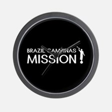 Brazil, Campinas Mission (Moroni) Wall Clock