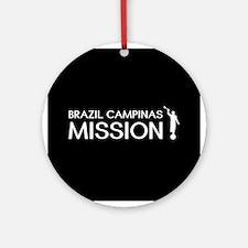 Brazil, Campinas Mission (Moroni) Round Ornament