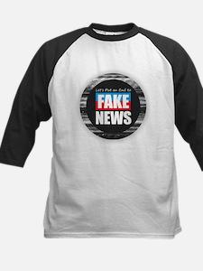 End Fake News Baseball Jersey