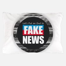 End Fake News Pillow Case