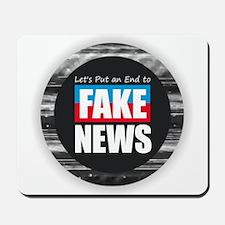 End Fake News Mousepad