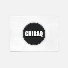 CHIRAQ - Black and White 5'x7'Area Rug