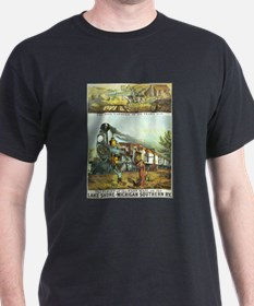 Flight of the Fast Mail Ash Grey T-Shirt
