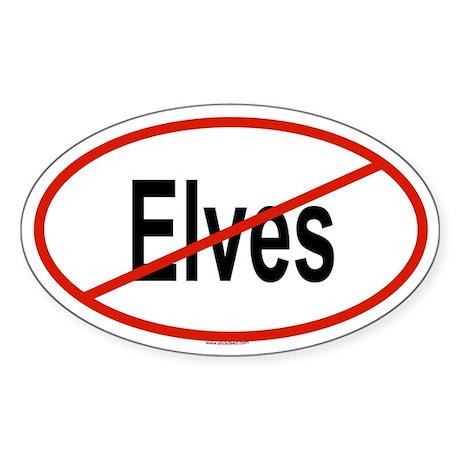 ELVES Oval Sticker