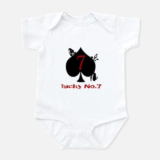 Lucky No. 7 Infant Bodysuit