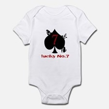Lucky No. 7 Onesie