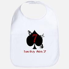 Lucky No. 7 Bib