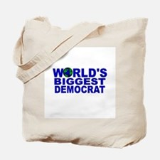 World's Biggest Democrat Tote Bag