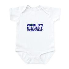 World's Biggest Democrat Infant Bodysuit