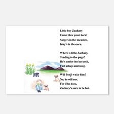 Little Boy Zachary Postcards (Package of 8)