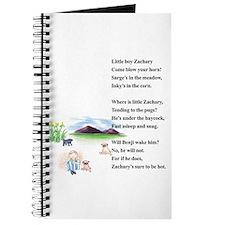Little Boy Zachary Journal