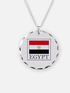 Cute Egypt flag Necklace