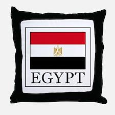 Cute Egyptian flag Throw Pillow