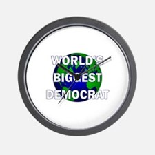 World's Biggest Democrat Wall Clock