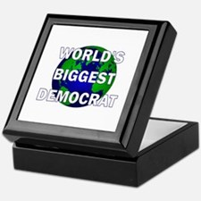 World's Biggest Democrat Keepsake Box