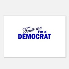 Trust Me I'm a Democrat Postcards (Package of 8)