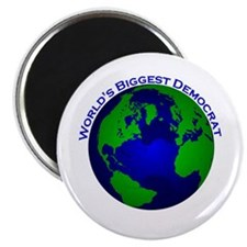 "World's Biggest Democrat 2.25"" Magnet (10 pack)"