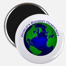 World's Biggest Democrat Magnet