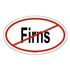 FIRNS Oval Decal