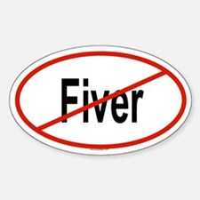 FIVER Oval Decal