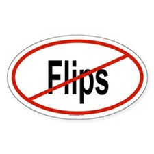 FLIPS Oval Decal