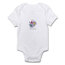 Happy New Year Balloons Infant Bodysuit