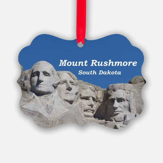Mount Rushmore Ornament