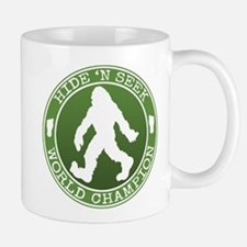 Bigfoot Hide and Seek Champ Mugs