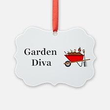 Garden Diva Ornament