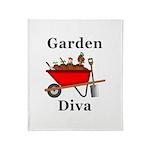 Garden Diva Throw Blanket