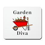 Garden Diva Mousepad