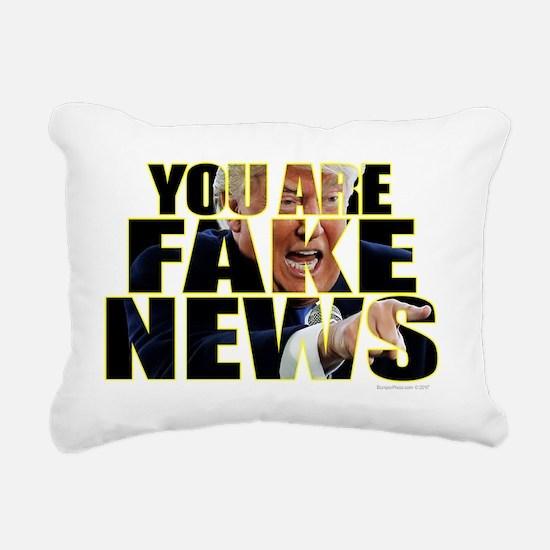 Unique News Rectangular Canvas Pillow