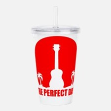 Cool Ukulele Acrylic Double-wall Tumbler