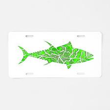 TUNA Aluminum License Plate