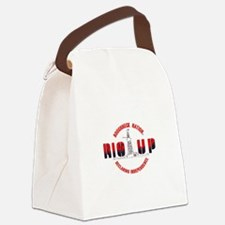 RIG UP LOGO Canvas Lunch Bag