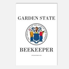 New Jersey Beekeeper Postcards (package Of 8)