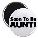Soon To Be Aunt! Black Magnet