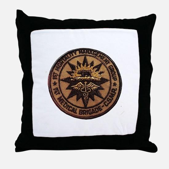 Mortality Management CSMR Throw Pillow