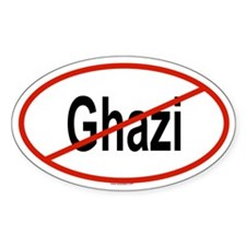 GHAZI Oval Decal