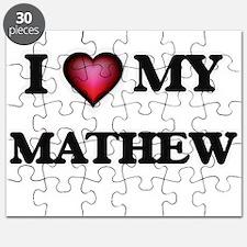 I love Mathew Puzzle