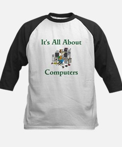 It's All About Computers Baseball Jersey