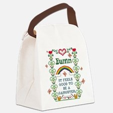 Cute Gangster Canvas Lunch Bag