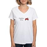 Garden Diva Women's V-Neck T-Shirt