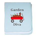 Garden Diva baby blanket