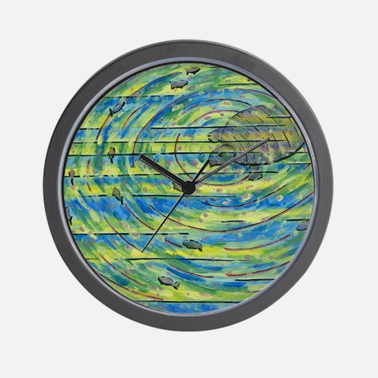 Colorful turtle Wall Clock
