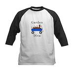 Garden Diva Kids Baseball Jersey