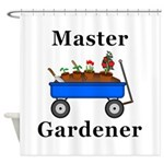 Master Gardener Shower Curtain