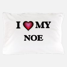 I love Noe Pillow Case