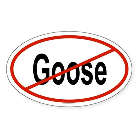 GOOSE Oval Sticker